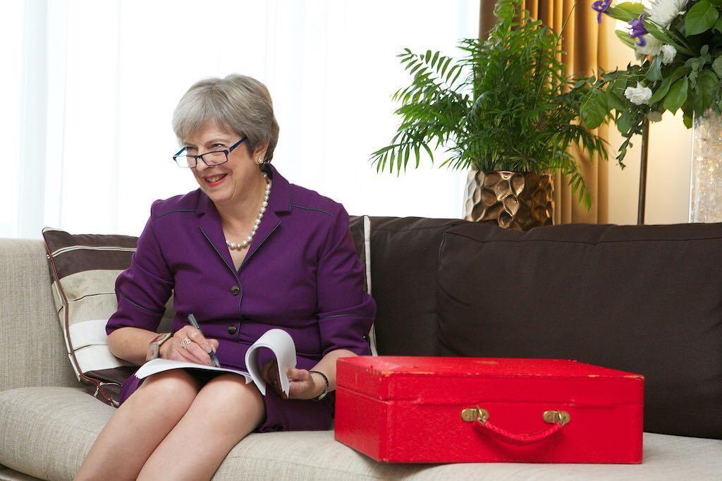 Theresa May, primeira-ministra do Reino Unido. Crédito: Reprodução Instagram