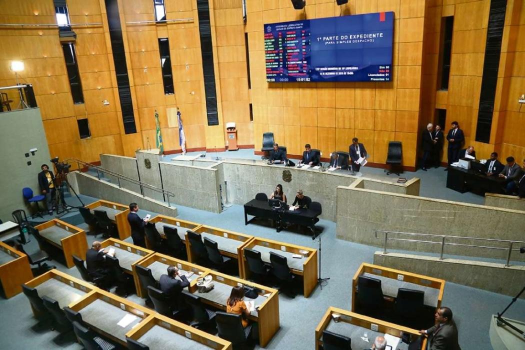 Plenário da Assembleia Legislativa. Crédito: Tati Beling/Ales