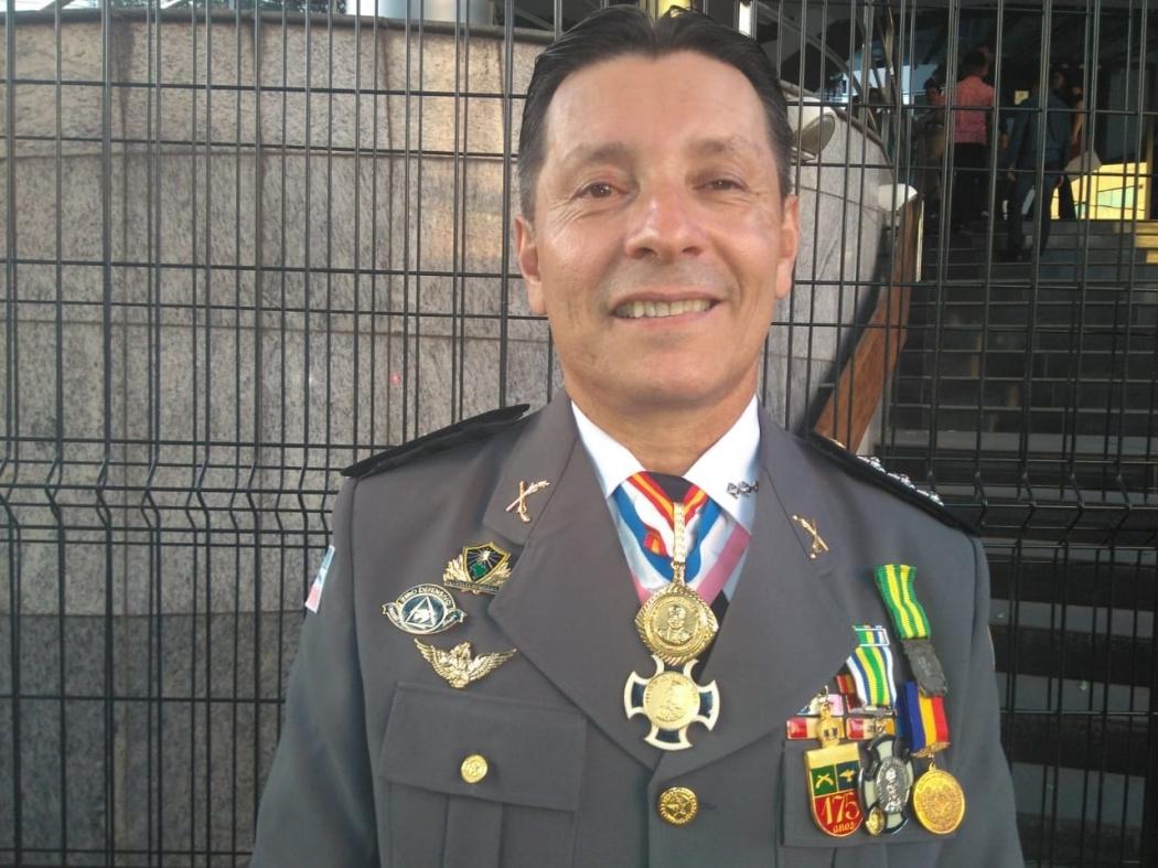 Capitão Assumção (PSL), deputado estadual eleito. Crédito: Vitor Vogas