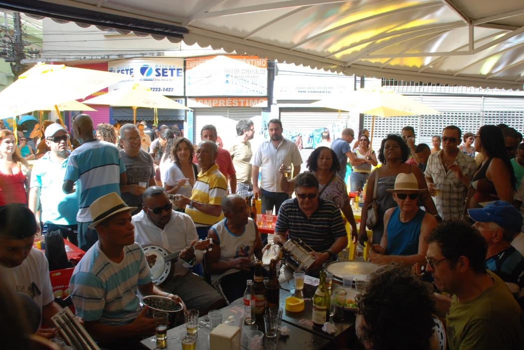 Samba da Xepa no Centro de Vitória. Crédito: Arquivo/Gazeta Online