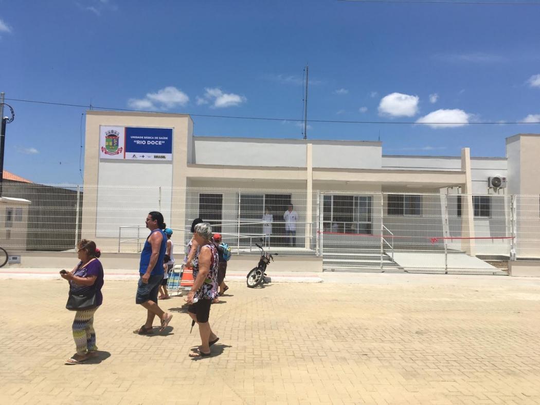 Unidade de saúde do Residencial Rio Doce, em Linhares. Crédito: Loreta Fagionato