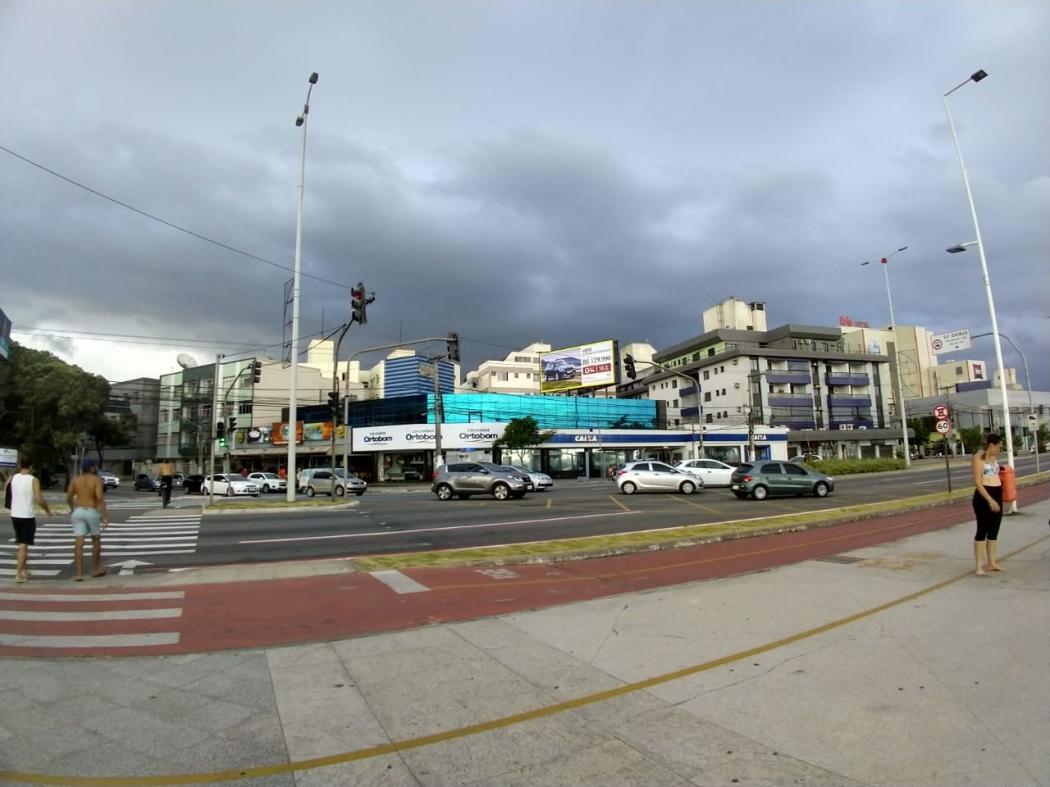 Tempo nublado em Planalto Serrano, na Serra. Crédito: Vanildo Pires de Souza