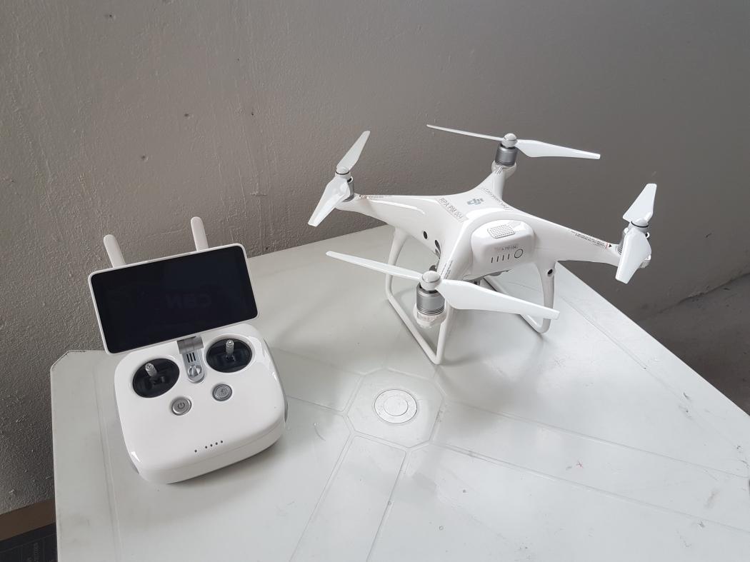 Drones serão utilizados por policiais militares na Base inaugurada no Morro da Piedade, em Vitória. Crédito: José Carlos Schaeffer