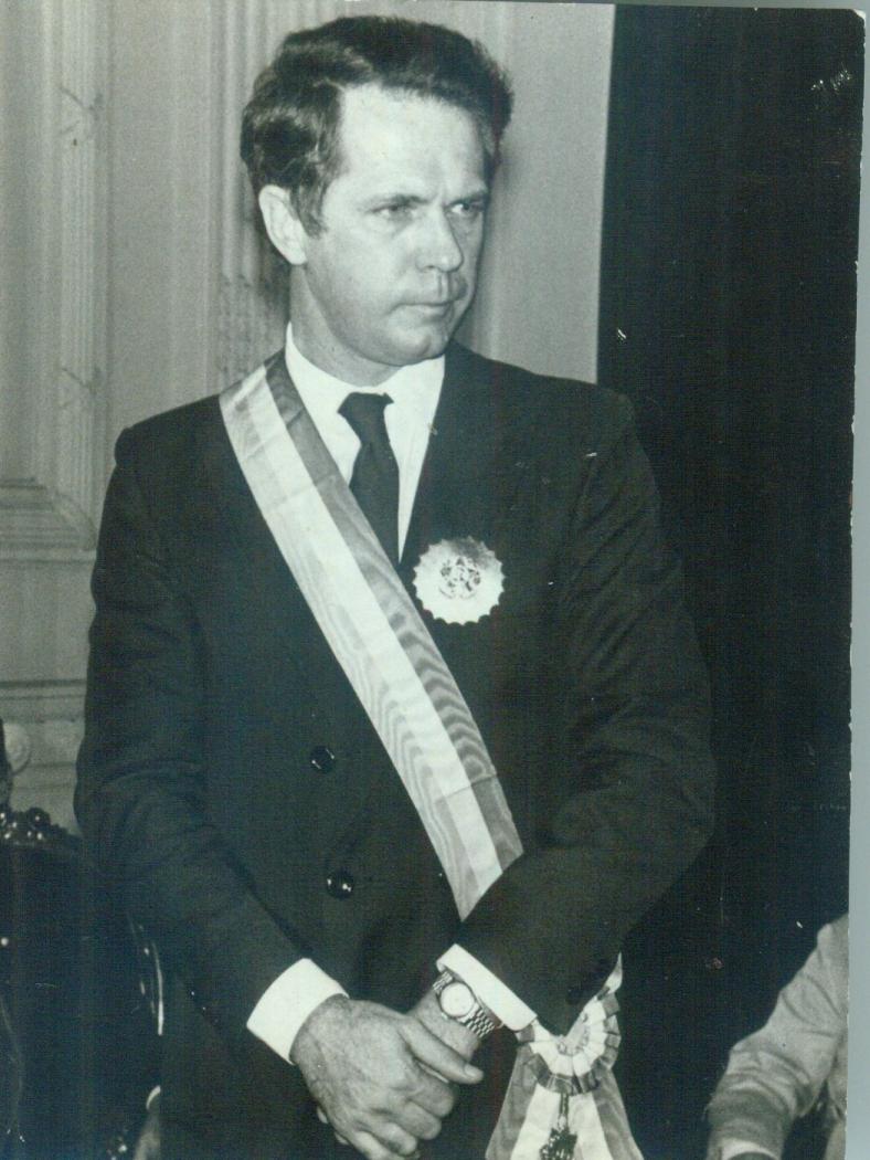 O governador Gerson Camata. Crédito: Gildo Loyola   Arquivo