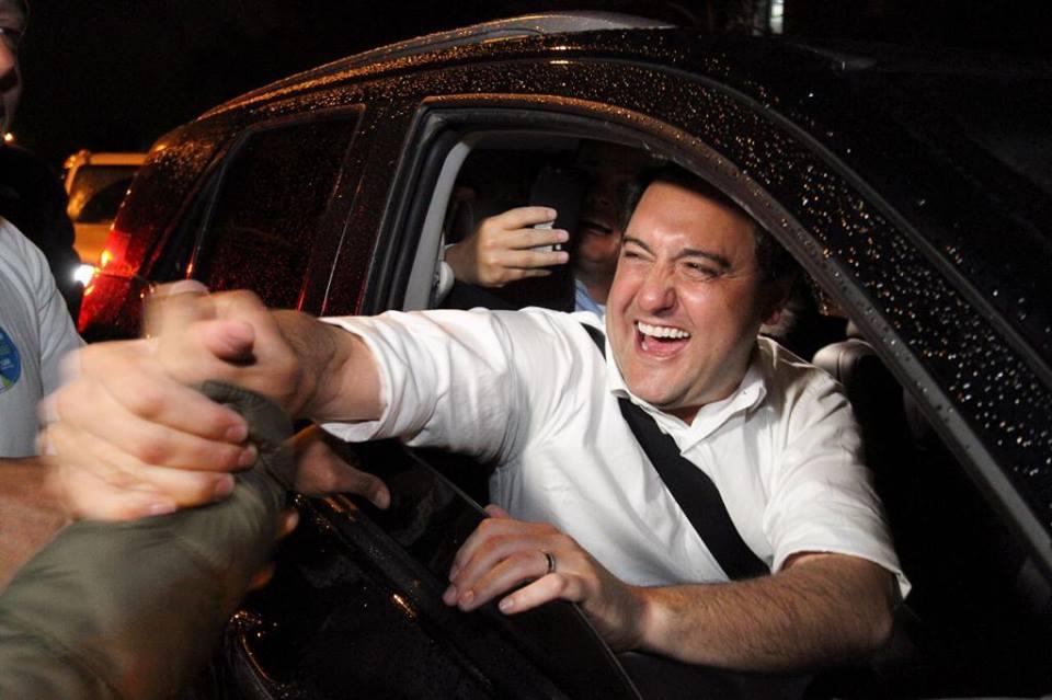 Ratinho Júnior, governador eleito no Paraná. Crédito: Reprodução/Facebook