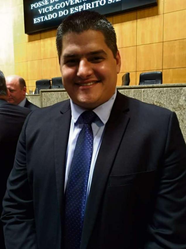 Alexandre Xambinho, deputado estadual eleito. Crédito: Maíra Mendonça