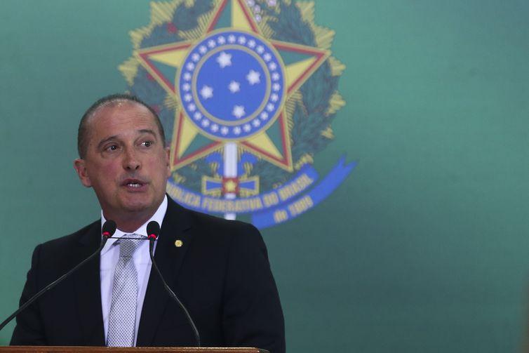 O ministro da Casa Civil Onyx Lorenzoni. Crédito: Antonio Cruz/Agência Brasil