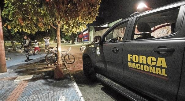 Força Nacional chegou ao Ceará no sábado