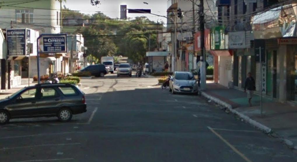 Rua Constante Sodré, em Vila Velha. Crédito: Reprodução/Google