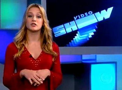 Apresentadores do Vídeo Show: Fiorella Mattheis. Crédito: Divulgação/TV Globo