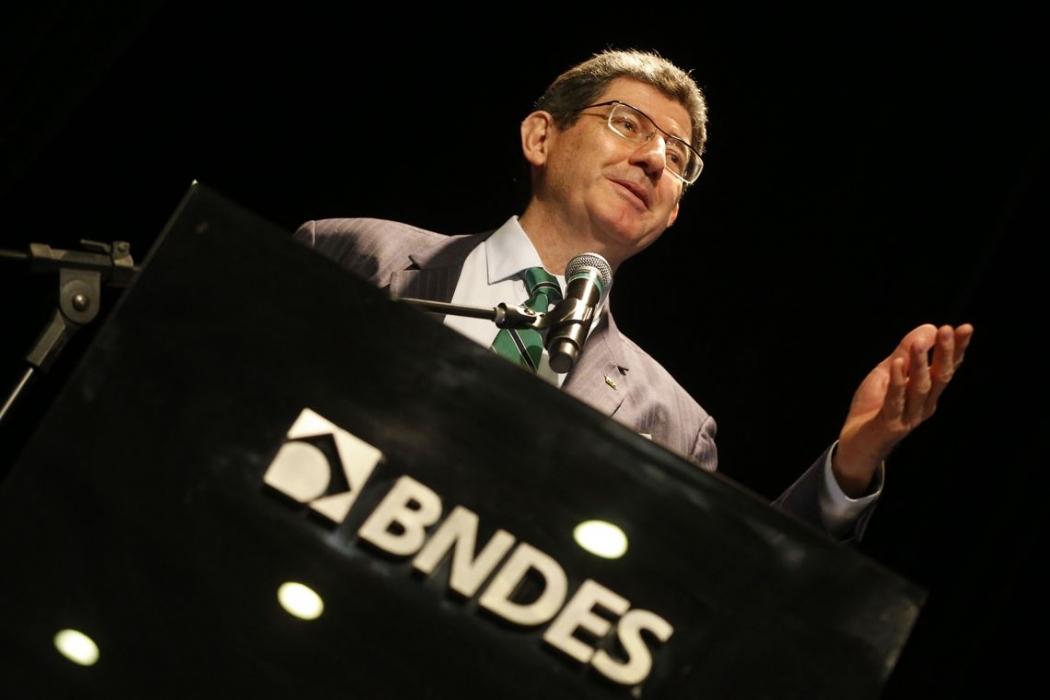 O presidente do BNDES Joaquim Levy. Crédito: Tânia Rêgo/Agência Brasil