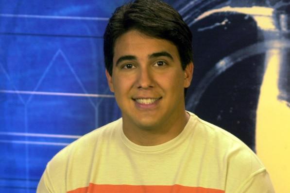 Apresentadores do Vídeo Show: André Marques. Crédito: Divulgação/TV Globo