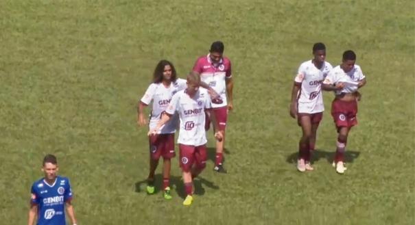 A Desportiva avançou invicta e com 100% de aproveitamento na Copinha