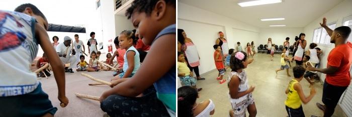 Crianças participarão de diferentes atividades e oficinas na colônia de férias Quilombinho, no Mucane, no Centro de Vitória. Crédito: Carlos Antolini