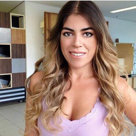 Raquel Pacheco, a Bruna Surfistinha da vida real. Crédito: Reprodução/Instagram @brunasurfistinhaoficial