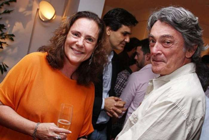 A atriz Elizabeth Savalla e o marido, o arquiteto Camilo Áttila