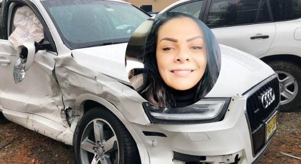 Capixaba com os maiores seios do mundo, Sheyla Hershey sofre acidente e silicone amortece batida