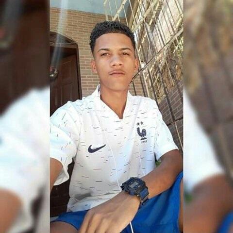 Luiz Fernando da Conceição Gomes, de 18 anos, vítima de ataque em morros de Vitória. Crédito: Reprodução