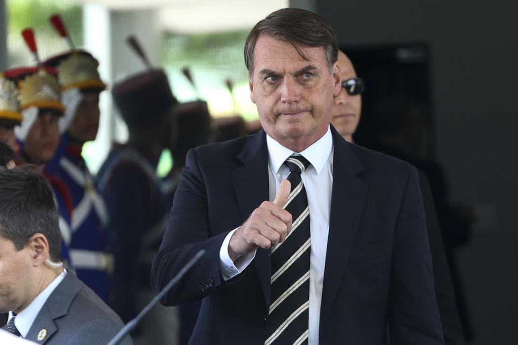 Jair Bolsonaro. Crédito: Wilson Dias/Agência Brasil