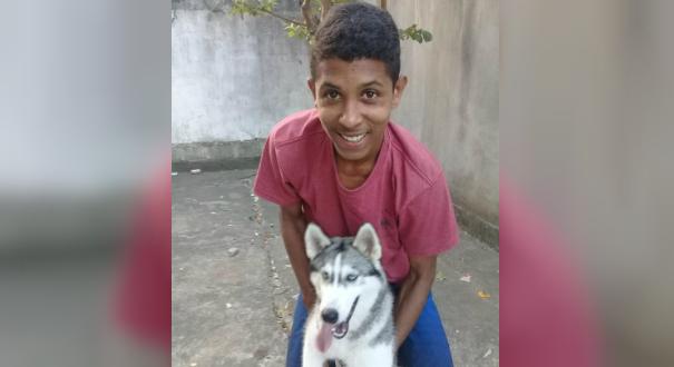 Leony Henrique Alvis tem 17 anos e está desaparecido deste o último sábado (12). Crédito: Reprodução | Facebook