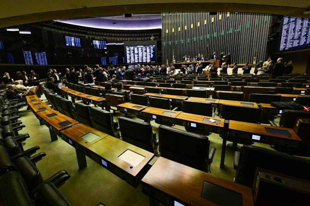 Plenário da Câmara dos Deputados. Crédito: Marcos Oliveira/Agência Senado