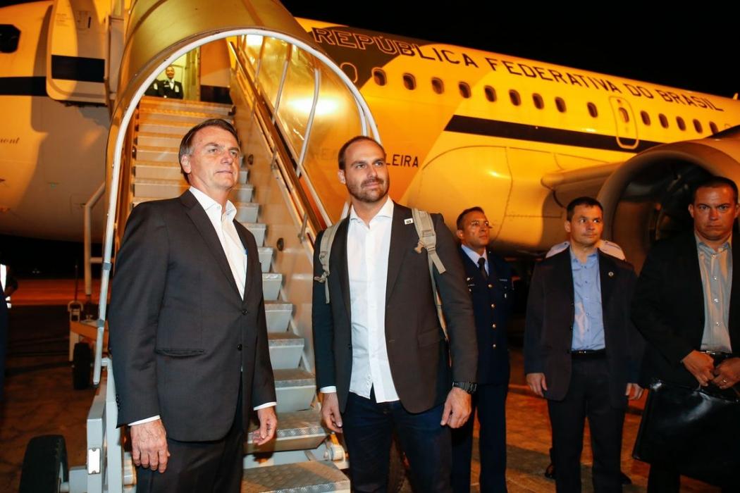 Presidente Jair Bolsonaro viaja para Davos. Crédito: Alan Santos/PR