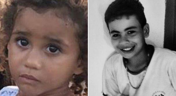 Ana Flávia e Iran morreram afogados em rio de Boa Esperança. Crédito: Reprodução