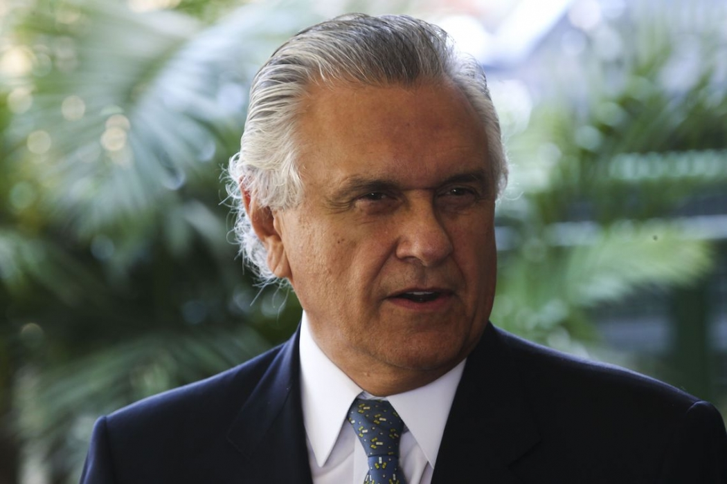 Ronaldo Caiado, governador de Goiás. Crédito: Antonio Cruz/ Agência Brasil