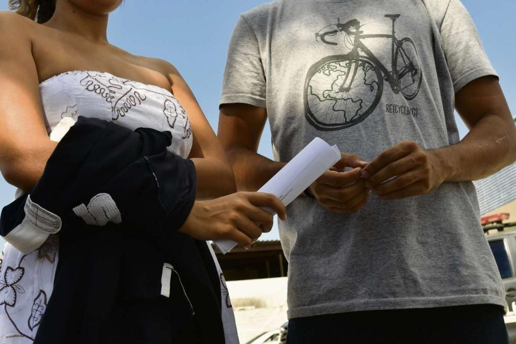 Casal é assaltado ao voltar de lua de mel em Vila Velha. Crédito: Bernardo Coutinho | NA