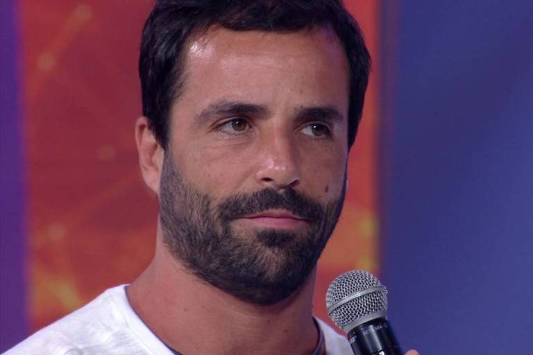 Vinicius é o primeiro eliminado do BBB 19. Crédito: TV Globo/Reprodução