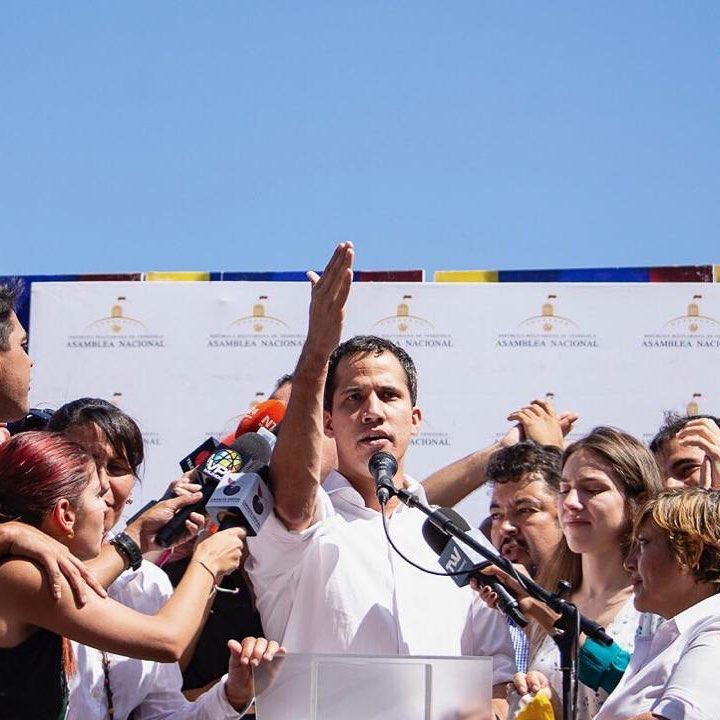 Brasil reconhece chefe do legislativo como presidente da Venezuela. Crédito: Reprodução Instagram