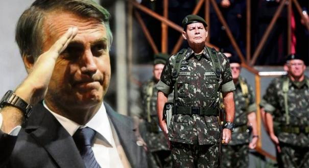 Governo de Jair Bolsonaro e a militarização da administração pública