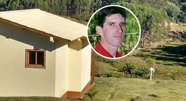 O empresário Gerson João Modolo, proprietário  de uma pousada em Domingos Martins, foi morto com um golpe na cabeça, dentro de sua casa. Crédito: Reprodução/Site Montanhas Capixabas