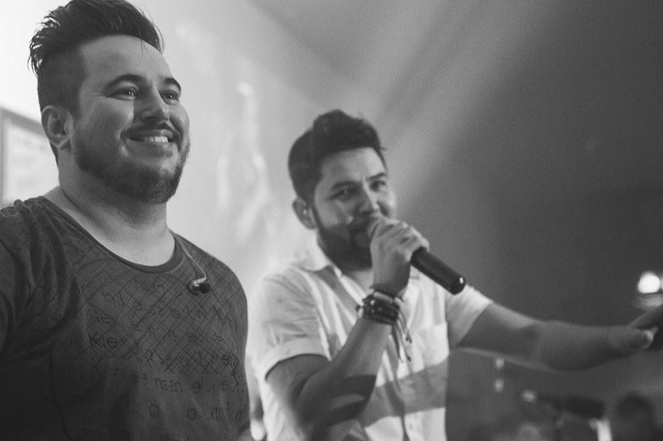 Rian e Rodrigo. Crédito: Lucas Dornellas