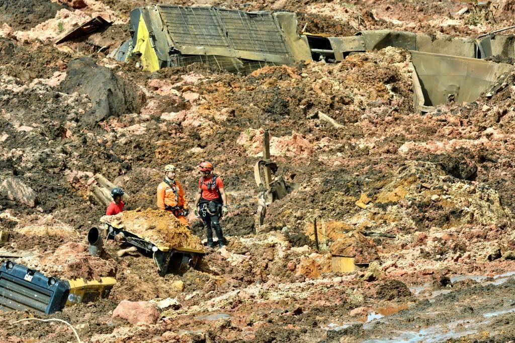 e31ab72f8 A barragem da mina do Feijão, situada em Brumadinho, na região  metropolitana de Belo