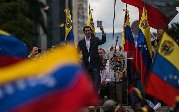Guaidó convoca manifestação anti-Maduro para este sábado. Crédito: Reproução/Instagram