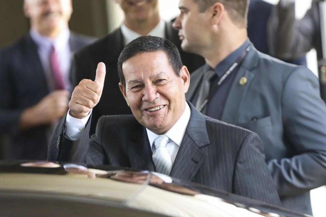 O vice-presidente da República, general Hamilton Mourão. Crédito: Marcelo Camargo/Agência Brasil