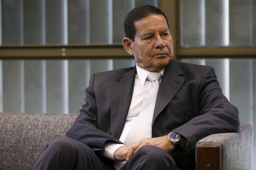 Hamilton Mourão, vice-presidente da República. Crédito: Marcelo Camargo/Agência Brasil