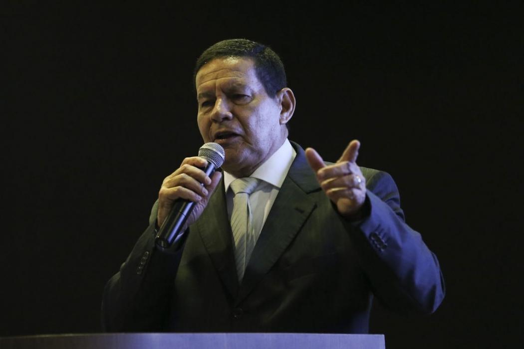 O vice-presidente da República, general Hamilton Mourão. Crédito: José Cruz/Agência Brasil