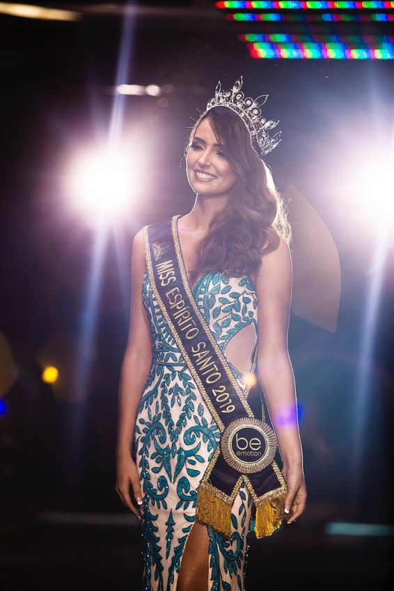 A arquiteta e influenciadora digital Thainá Castro é a nova Miss Espírito Santo 2019. Crédito: Divulgação/Coordenação Miss Espírito Santo Be Emotion