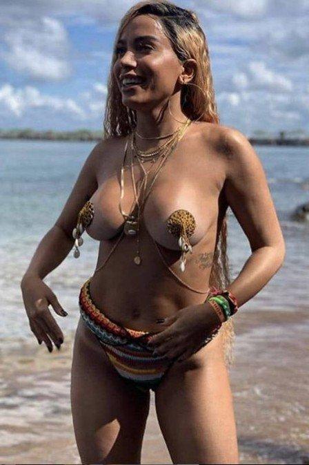 31/01/2019 - Anitta grava o clipe 'Bola, rebola' em Salvador. Crédito: Divulgação/Mattoni Comunicação