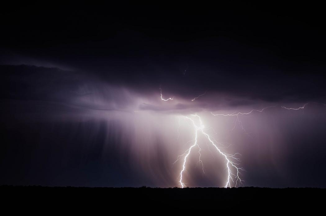 Instituto emite alerta de tempestade para esta quinta-feira (28). Crédito: Pixabay