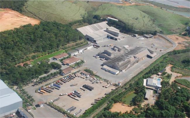 Unidade da Heringer em Viana. Empresa passa por dificuldades financeiras. Crédito: Heringer | Divulgação