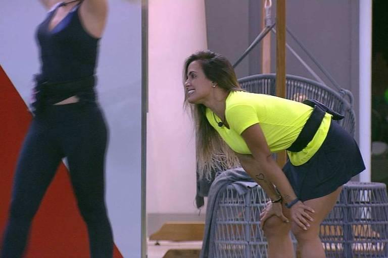 Carolina é a nova Líder do BBB 19. Crédito: TV Globo/Reprodução