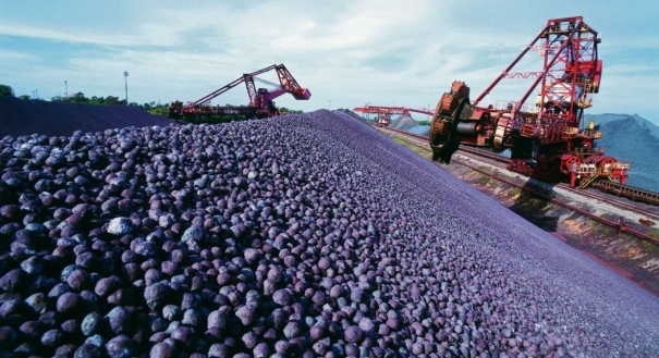 Produção de minério da Vale