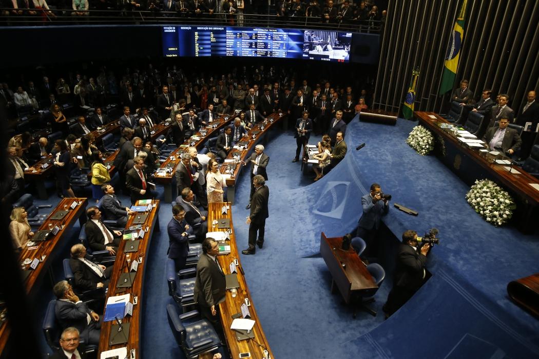 Eleição no Congresso: os novos presidentes da Câmara e do Senado. Crédito: Dida Sampaio