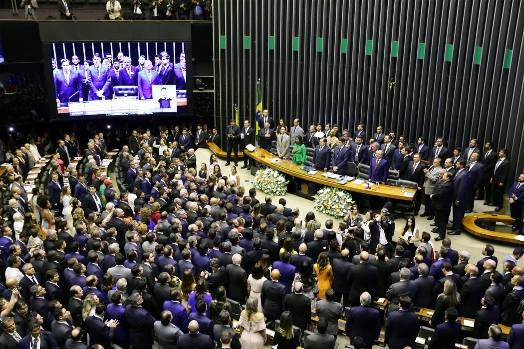Há 180 deputados dispostos a aprovar a reforma da Previdência. Crédito: Luis Macedo/Câmara dos Deputados
