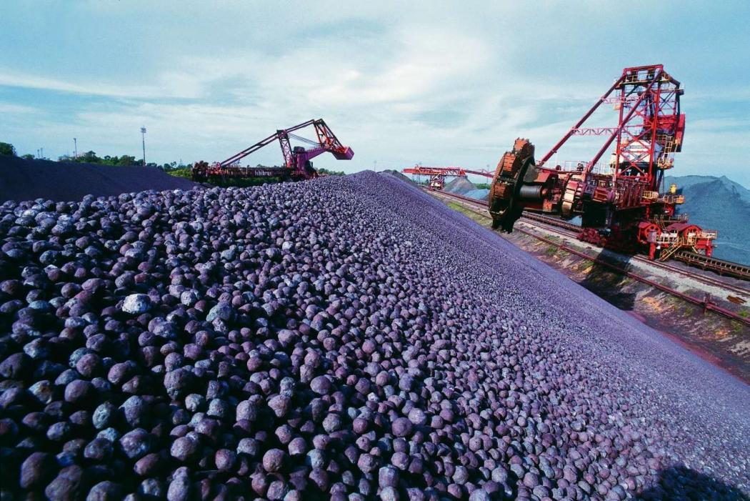 Produção de minério da Vale. Crédito: Vale/Divulgação