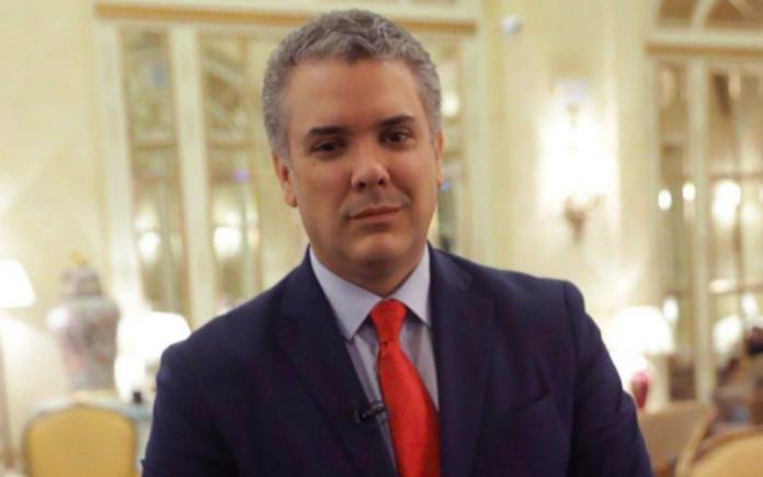 Presidente da Colômbia, Ivan Duque. Crédito: Reprodução