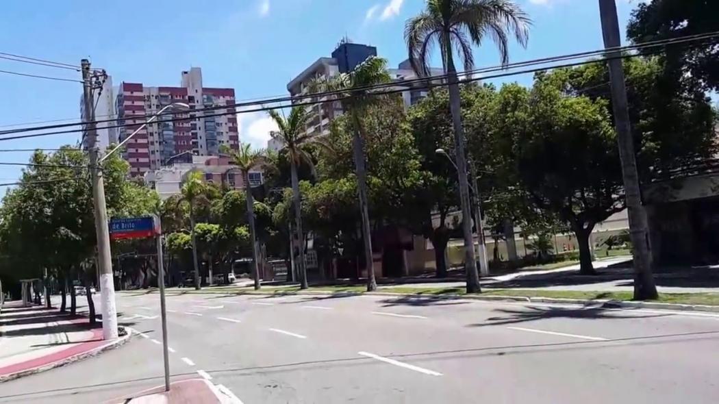 Rua da Praia do Canto, bairro alvo de dependentes químicos e ladrões. Crédito: Divulgação